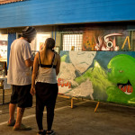 Live Art at Honolulu Night Market