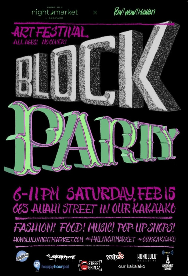Block party flyer copy