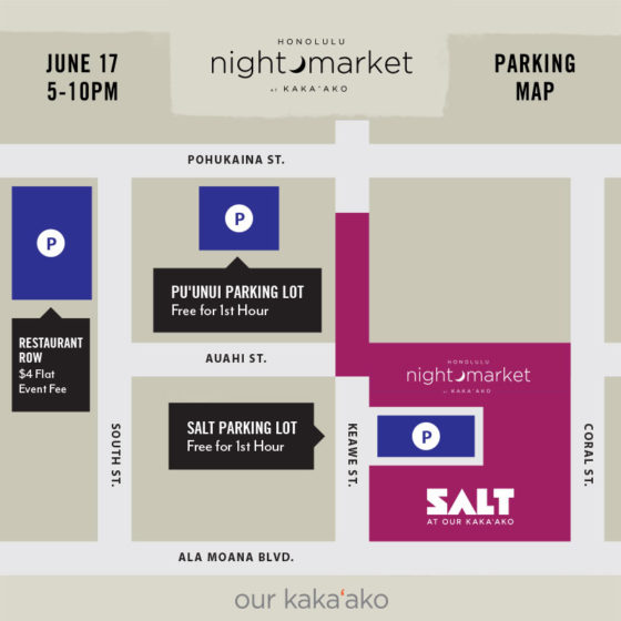 HNL_NightMarket_ParkingMap